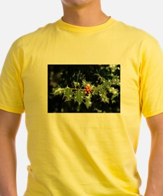 Christmas Holly Berries T-Shirt