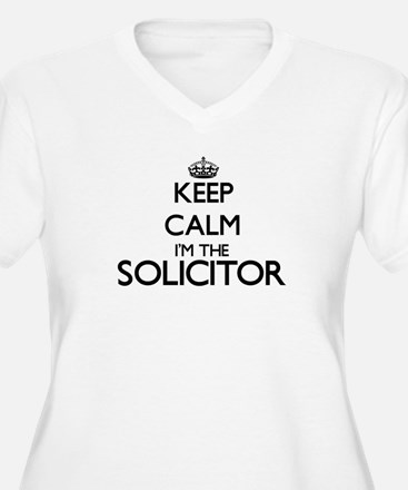 Keep calm I'm the Solicitor Plus Size T-Shirt