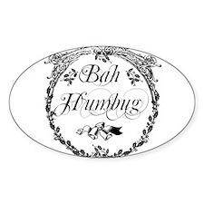 Vintage Bah Humbug Decal