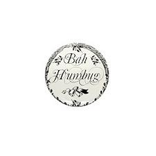 Vintage Bah Humbug Mini Button