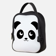 panda smile copy.png Neoprene Lunch Bag