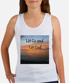 LET GO AND LET GOD Women's Tank Top