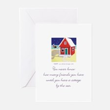 Beach Friends 3 Greeting Cards (Pk of 10)