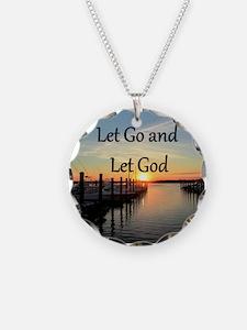 LET GO AND LET GOD Necklace