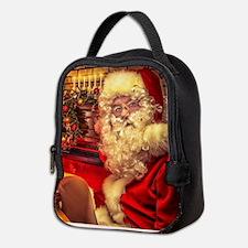 Santa Claus 4 Neoprene Lunch Bag
