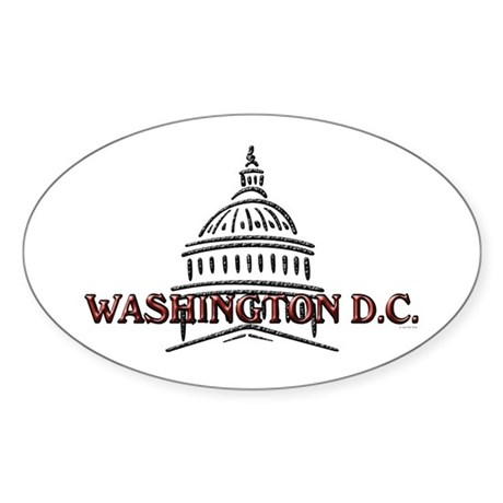 New Section Oval Sticker