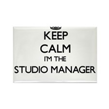 Keep calm I'm the Studio Manager Magnets