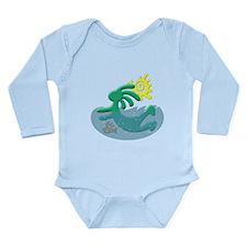 Swimmer Long Sleeve Infant Bodysuit