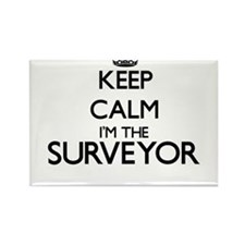 Keep calm I'm the Surveyor Magnets