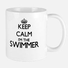 Keep calm I'm the Swimmer Mugs