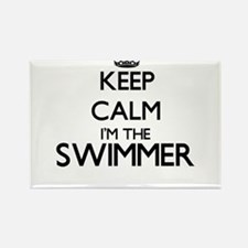 Keep calm I'm the Swimmer Magnets