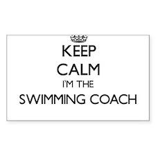 Keep calm I'm the Swimming Coach Decal