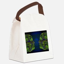 Binary Communication Canvas Lunch Bag