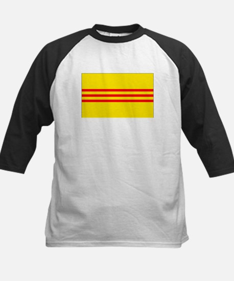 Old South Vietnam Flag Baseball Jersey