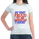 Proud to be American Jr. Ringer T-Shirt