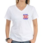 Proud to be American Women's V-Neck T-Shirt