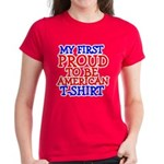 Proud to be American Women's Dark T-Shirt