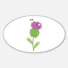 Thistle Bees Decal