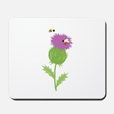 Thistle Bees Mousepad