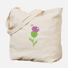 Thistle Bees Tote Bag