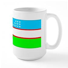 Uzbekistan Flag Mugs