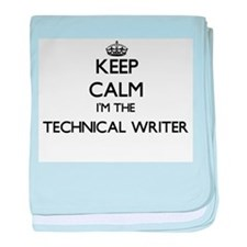 Keep calm I'm the Technical Writer baby blanket
