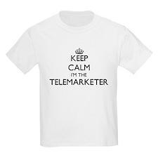 Keep calm I'm the Telemarketer T-Shirt