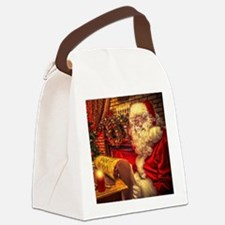 Santa Claus 4 Canvas Lunch Bag