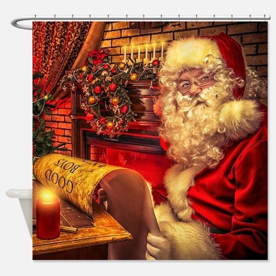 Santa Claus 4 Shower Curtain