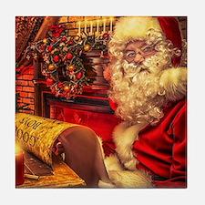Santa Claus 4 Tile Coaster