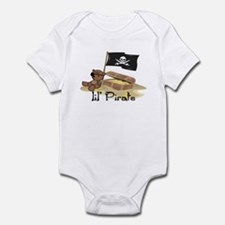 Lil Pirate Baby/Toddler Bodysuit
