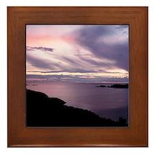 Glencoloumbkille Framed Tile