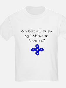 Ag Labhairt Liomsa? T-Shirt