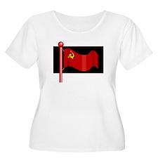 USSR Flag Plus Size T-Shirt