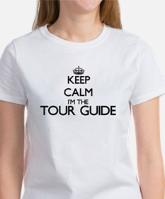 Keep calm I'm the Tour Guide T-Shirt