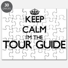 Keep calm I'm the Tour Guide Puzzle