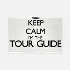 Keep calm I'm the Tour Guide Magnets