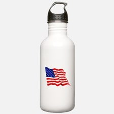 United States Flag Water Bottle