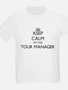 Keep calm I'm the Tour Manager T-Shirt