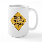 Trust me Large Mug