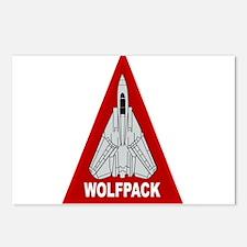 Cute Wolfpack Postcards (Package of 8)