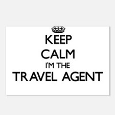 Keep calm I'm the Travel Postcards (Package of 8)