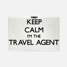 Keep calm I'm the Travel Agent Magnets