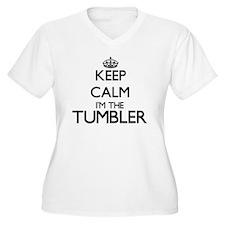 Keep calm I'm the Tumbler Plus Size T-Shirt