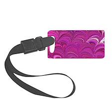 Purple Wave Luggage Tag