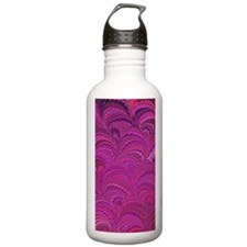 Purple Wave Water Bottle