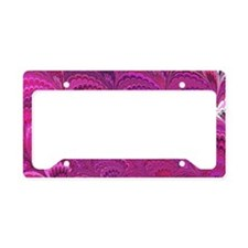 Purple Wave License Plate Holder