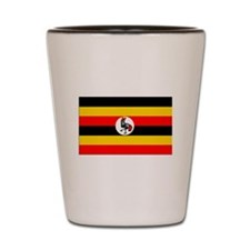 Uganda Flag Shot Glass