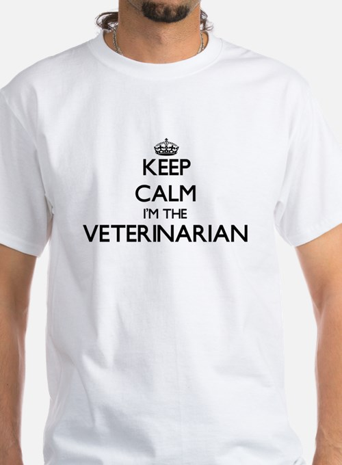 Keep calm I'm the Veterinarian T-Shirt