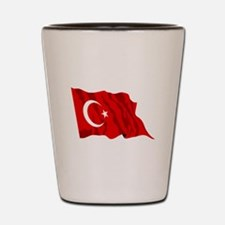 Turkey Flag Shot Glass